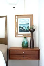 floating nightstand with drawer diy