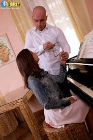 Barely legal teen lets her oldman piano teacher fuck her tiny.