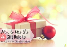 Will The 4 Gift Rule Work For Your Family This Christmas  Frugal Christmas Gift