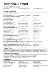 Costume Designer Resume Costume Designer Resume Examples Pictures HD Aliciafinnnoack 15