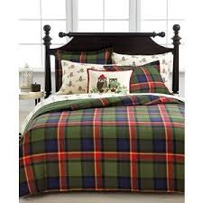 green plaid comforter. Perfect Plaid Martha Stewart Collection HIGHLAND PLAID Twin Comforter Cover Green BlueRed In Plaid E