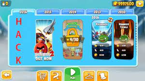 How to download angry bird season 2018 hack apk mod with gameplay by  Mr.Nobody.   Angry birds seasons, Angry birds, Angry b