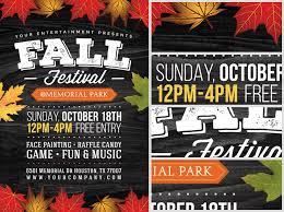 Fall Festival Flyers Template Free Fall Festival Flyer Template 2 Flyerheroes