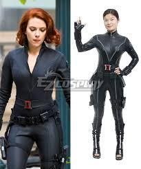 new captain america 2 avengers black widow natasha romanoff cosplay costume