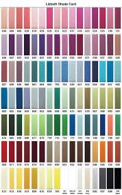 Actual Dmc Cotton Thread Colour Chart Dmc Grey Mouline