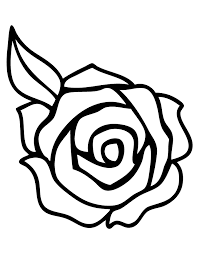 Online coloring pages for kids and parents. Rose Coloring Pages Printable Coloring Home