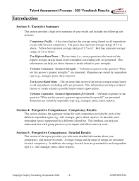 360 Evaluation Impressive Sample 48 Feedback Report Gordon Curphy PhD