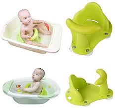 generic newborn baby bath anti slip safety seat chair security bathtub mat pad care