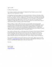 Nursing Resume Cover Letter Examples Example For Hospitalist Nurses