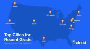Top 10 Cities For Recent Graduates Indeed Blog