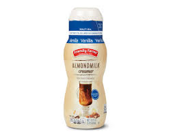 They're typically lower in saturated fat, too. Vanilla Or Caramel Almondmilk Coffee Creamers Friendly Farms Aldi Us