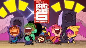 All Big Chibi 6 Shorts   Compilation   Chibi Tiny Tales   <b>Big Hero 6</b> ...