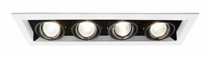 Встраиваемый <b>светильник ARTE LAMP A5941PL-4WH</b> CARDANI ...