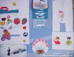 Cleanliness Chart For School Cards Crafts Kids Projects Health Hygiene Interactive Chart