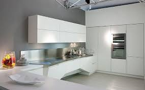 Small Picture Modern White Kitchen Cabinets Wonderful Minimalist Attic Design