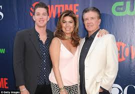 alan thicke wife. Exellent Alan Final Game The Growing Pains Star Was Playing Hockey With His 19year To Alan Thicke Wife N