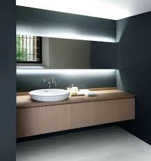 above mirror lighting. Bathroom Mirror Lights Lighting Modern Hidden Landscape Lamps Stylish Elegant Over . Above