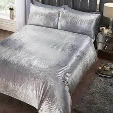 luxury soft velvet metallic silver
