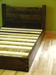 wooden twin bed frame platform bed twin bed low profile bed bed frame headboard reclaimed wood wooden twin bed frame