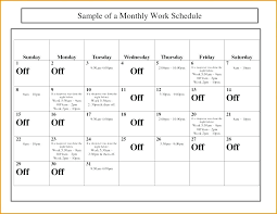 Schedule Monthly Template Daily Weekly Monthly Cleaning Schedule Template Nakhal Info