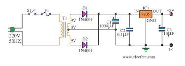 diagram circuit source 2013 9 volt power supply circuit diagram using ic 7809