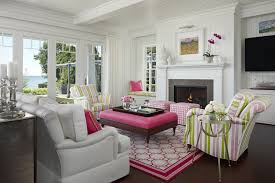 pink living room chair. pink and green living room chair r