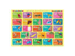Alphabet Chart Australia Alphabet A2 14 95 Rmm Office Supplies Stationary And