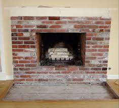 amazing brick fireplace hearth le