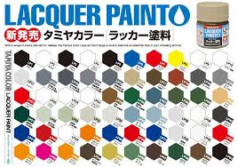 Tamiya Lacquer Paint Chart Tamiya 10ml Lacquer Paint Lp 7 Pure Red