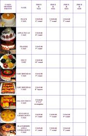 Www Sweetsusy Com Desserts Cakes Pricing Chart