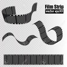 Film Picture Template Film Isolated On Transparent Background Movie Reel Template