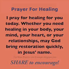 Christian Prayer For Healing Quotes Best of Prayer For Healing I Pray For Healing For You Today Whether You