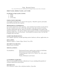 Administration Job Resume Sample Resume Templates