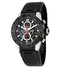 tag heuer carrera 45mm men s watch car2a1z ft6044 interwatches com tag heuer car2a1z ft6044