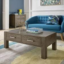 blake dark oak coffee table with