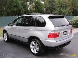 Titanium Silver Metallic 2004 BMW X5 4.4i Exterior Photo #39100386 ...