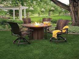 round gas fire table impressing gas fire pit table set of romantic at patio small fresh