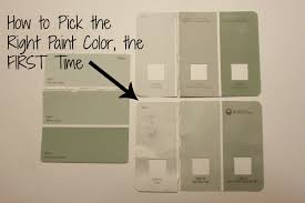 how to choose a paint colorHow to Pick the Perfect Paint Color the First Time  All Things