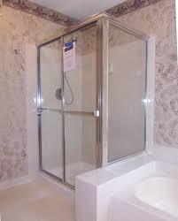 framed sliding shower doors. Framed Slider With Return Panel Sliding Shower Doors