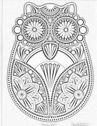 Small Picture Intricate Design Coloring Pages Mandalas Coloring Pinterest