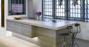 architectural kitchen designs. Natural Grey Concrete Countertop 3 - Architectural Kitchen Designs