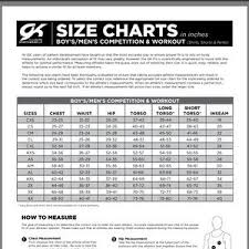 Gk Size Chart 28 Credible Gk Elite Size Chart