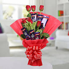 chocolate rose bouquet birthday gifts for boys men