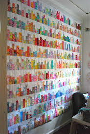 Base Line quilt by Sarah Fielke. What a great way to use up scraps ... & Base Line quilt by Sarah Fielke. What a great way to use up scraps! Adamdwight.com