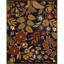 nourison in bloom black rug inb01 hover to zoom
