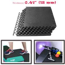 72sq ft eva foam interlocking puzzle floor mat soft tiles gym exercise mats yoga