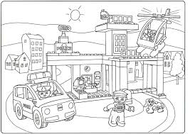 Small Picture Lego City Coloring Page Lego Moto Police Coloring Page Free