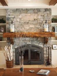 cover an existing fireplace with thin natural weather muskoka ledgerock veneer remove the ton from stone