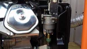 generac gp portable generator leak generac gp5500 portable generator leak