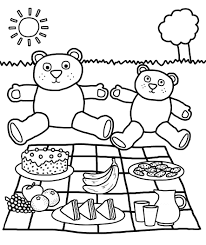 Small Picture Picnic Coloring Pages Best Coloring Pages adresebitkiselcom